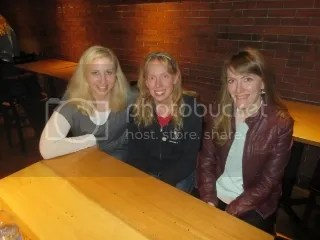 Heather, me, and Lydia - Big Flats, New York reunited!