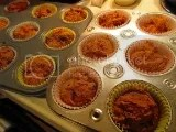 Gluten Free 3-Ingredient Pumpkin Spice Chocolate Chip Muffins (made with Pamela's Products Gluten Free Spice Cake Mix)