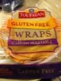 Toufayan Bakeries Gluten Free Garden Vegetable Wraps