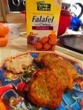 Nature's Earthly Choice Roasted Garlic Falafel with Quinoa
