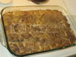 Gluten Free Cinnamon Raisin Peanut Butter Coconut Bread Pudding