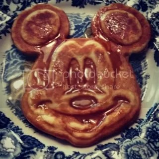 Gluten Free Magners Hard Cider Brown Butter (Mickey) Waffles
