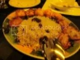 Bandar's Albalu Polo (Black Cherry Rice and Chicken Kebab)