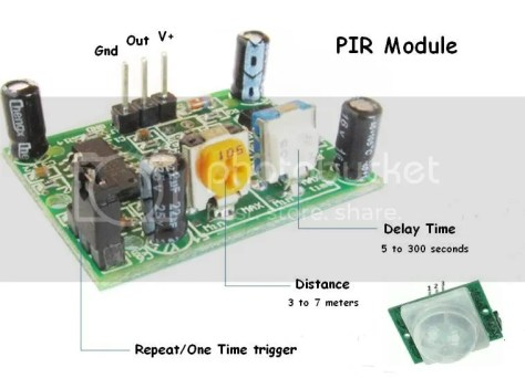Pinout PIR module