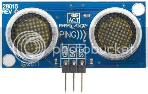 Ultrasone paralax sensor