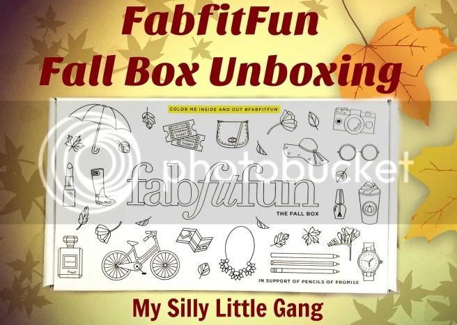 fabfitfun unboxing