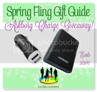 Spring Fling Askborg Charge Giveaway