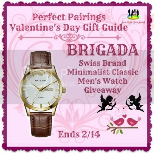 BRIGADA mens watch giveaway