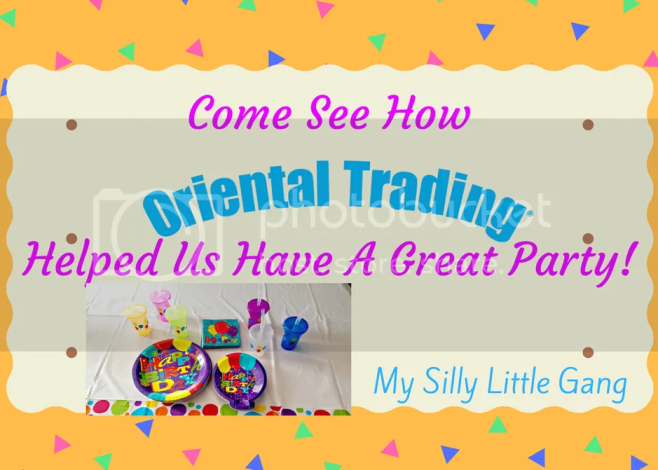 Our Great Party With Help From Oriental Trading