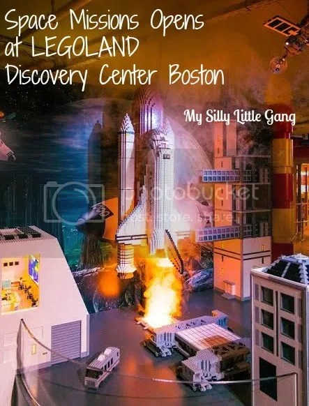 Space Missions opens at LEGOLAND Discovery Center Boston