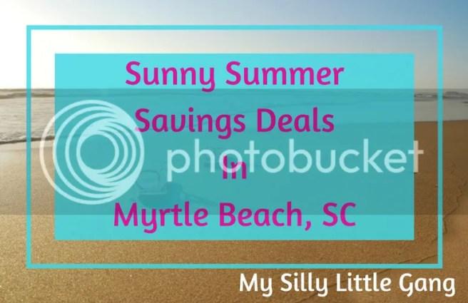 Summer Savings Deals in Myrtle Beach