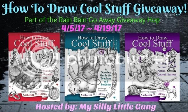 rain rain giveaway hop how to draw cool stuff giveaway