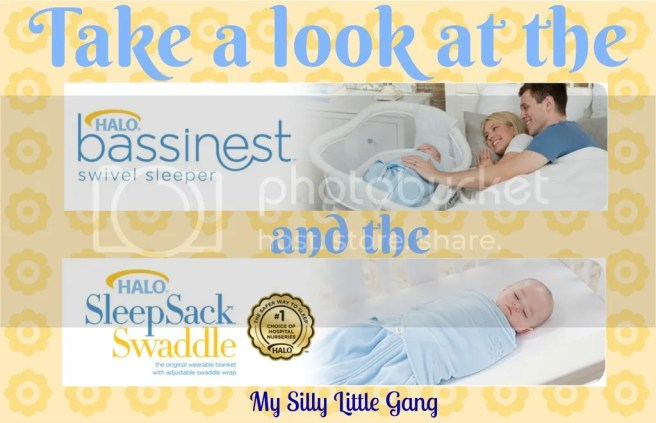 take a look at the HALO bassinest & sleepsack swaddle