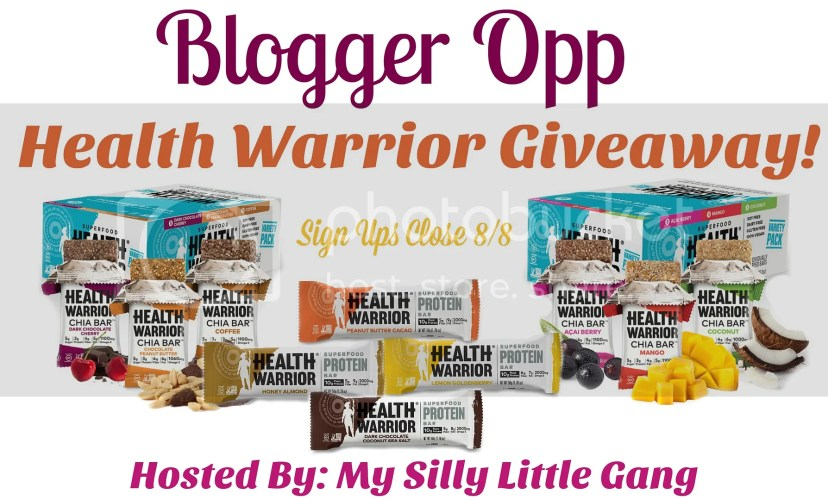 Blogger Opp - Health Warrior