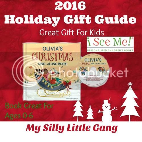 Christmas sing-along book