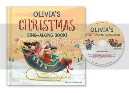 Christmas sing along book