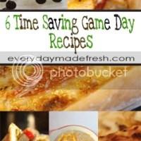 6 Time Saving Game Day Recipes