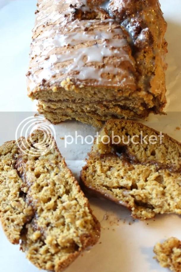 Cinnamon Swirl Pumpkin Banana Bread via Everyday Made Fresh