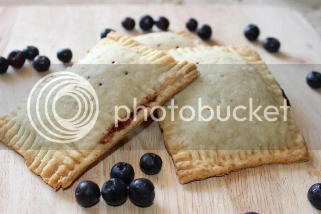 Vegan Adaptable Blueberry Poptarts