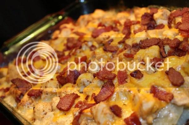 Cheese Chicken and Potato Bake via Everyday Made Fresh