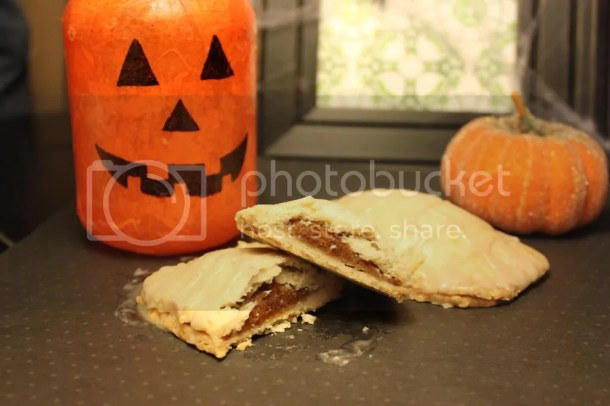 Pumpkin Pie Poptarts - Vegan Adaptable