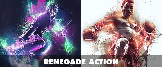 Fracture Photoshop Action - 64