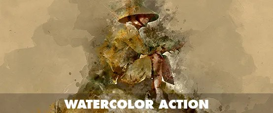 Watercolor Photoshop Action - 64
