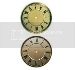 Clock Parts Antique Reproduction Clock Dial Faces