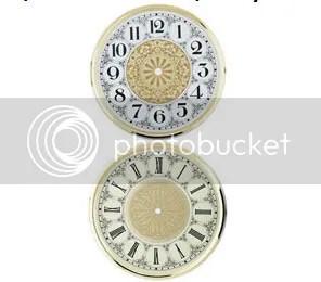 Crystal Clock Dial Face Clock Parts.com