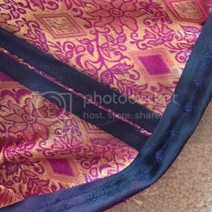 photo Sew Victoria Purple Silky Sophia Top Navy Blue Binding_zpslnav051a.jpg