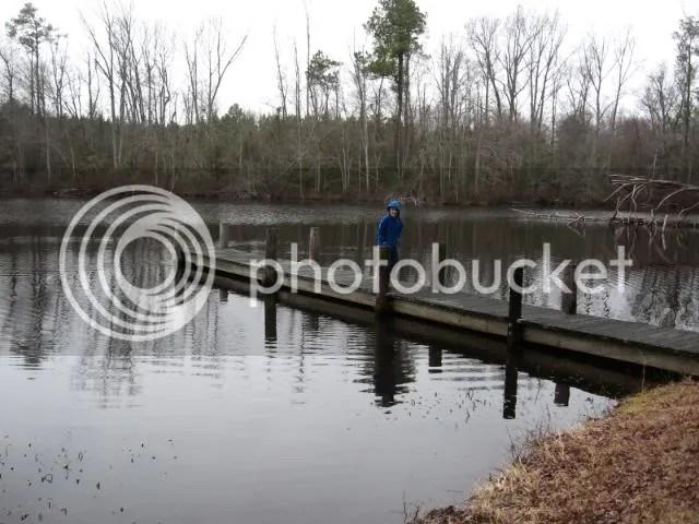 Ian on the pier