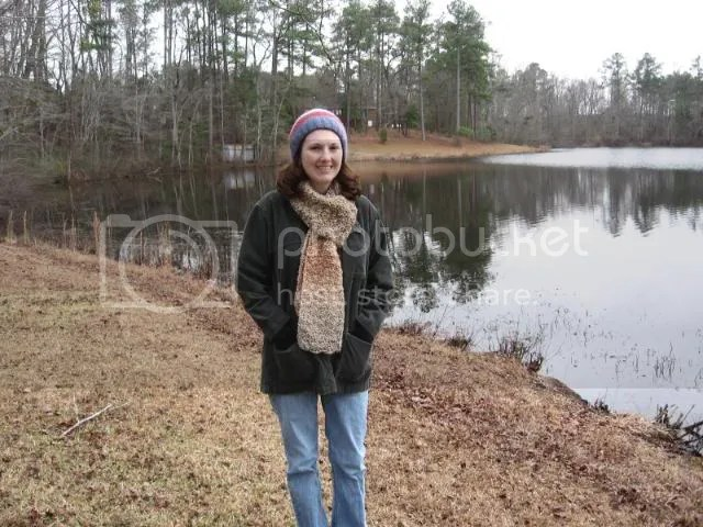 Me by the pond