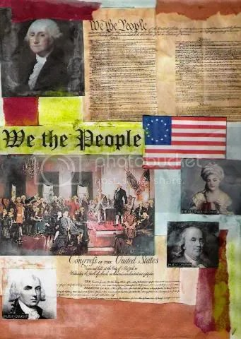 Constitution Collage