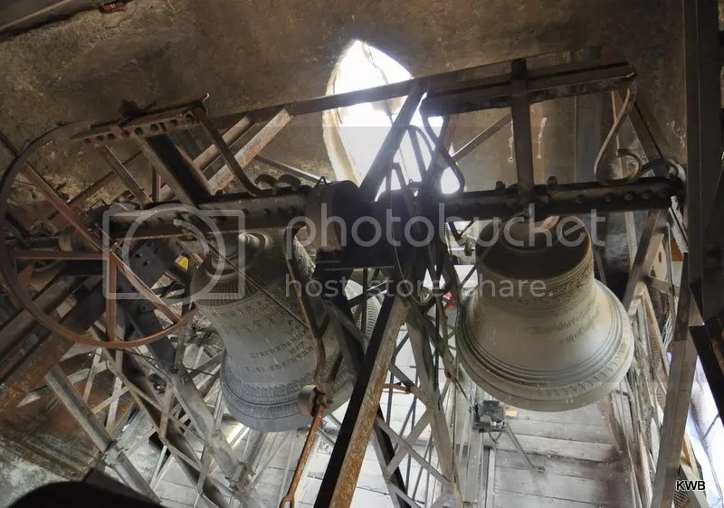 The cathedral bells.
