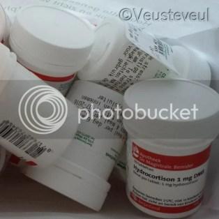 Bijnierschorsinsufficiëntie, medicatie genaamd Hydrocortison