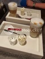 Latte bij Brownies & downieS Wageningen, heerlijk!