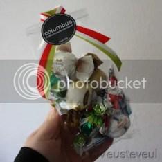 cadeau voor de juf - uiteraard ook chocolade!