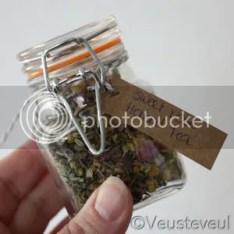 cadeau voor de juf - vier smaken thee!