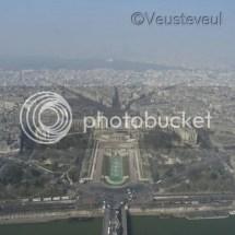 Parijs vanuit de Eiffeltoren