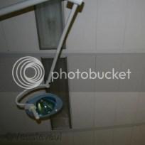 Pre-eclampsie - mijn uitzicht op de verloskamer... het plafond met lampen