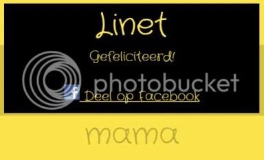 Linet, eerste winnaar van het tricot rokje!
