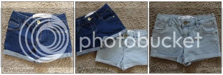 Shoplog - Zomerkleding bij de primark, korte spijkerbroekjes!