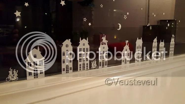 Huisjes stickers voor op het raam, van Mini Bini