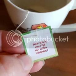 Tea Topic - Waar zou jij meer tijd aan willen besteden?