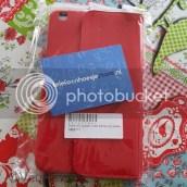 Tablethoes, ik bestelde een knalrode op telefoonhoesjestore.nl