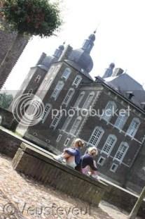 Eén van de uitjes tijdens onze vakantie in Limburg, Kasteel Hoensbroek