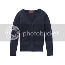 Langer blauw vest - voor bij de maxi dress