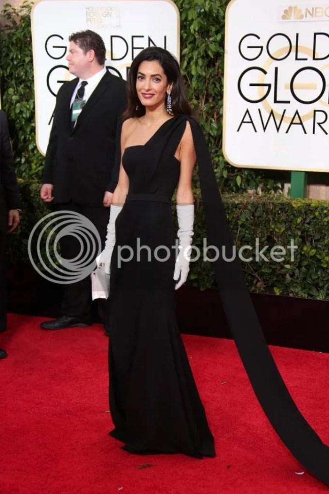 Amal Alamuddin Clooney, Golden Globes, 2015
