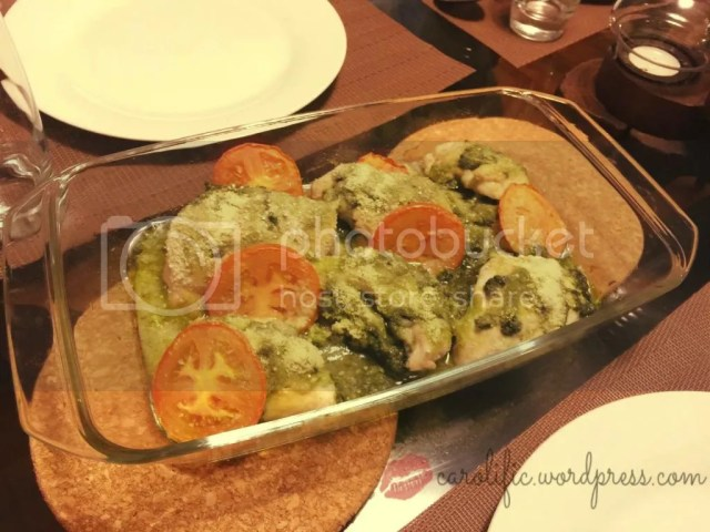 Quick recipe, Pesto, Chicken, Baked, Parmesan, Low-Carb, Healthy