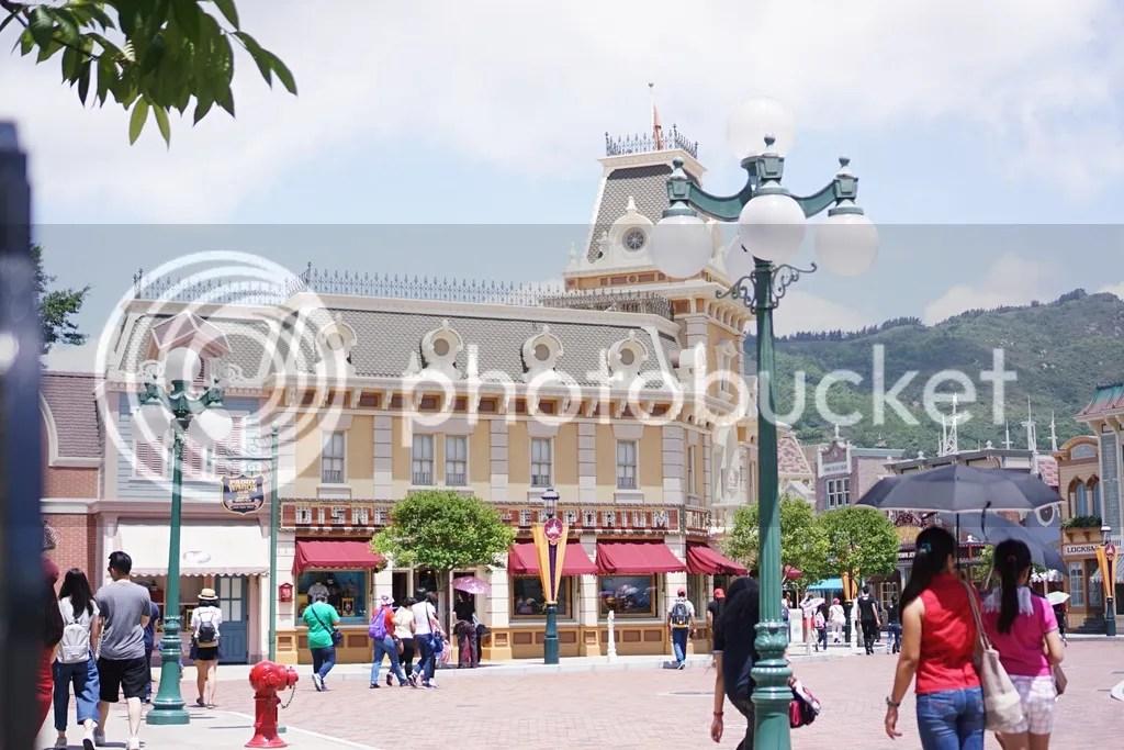 Hongkong Disneyland Main Street USA
